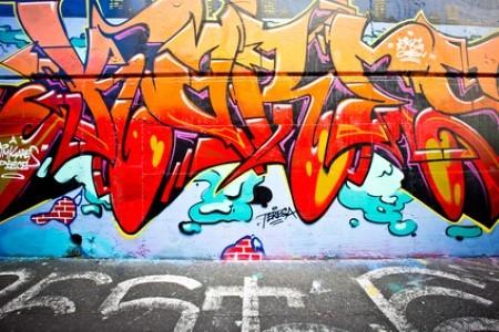 Pressure Washing Graffiti Removal